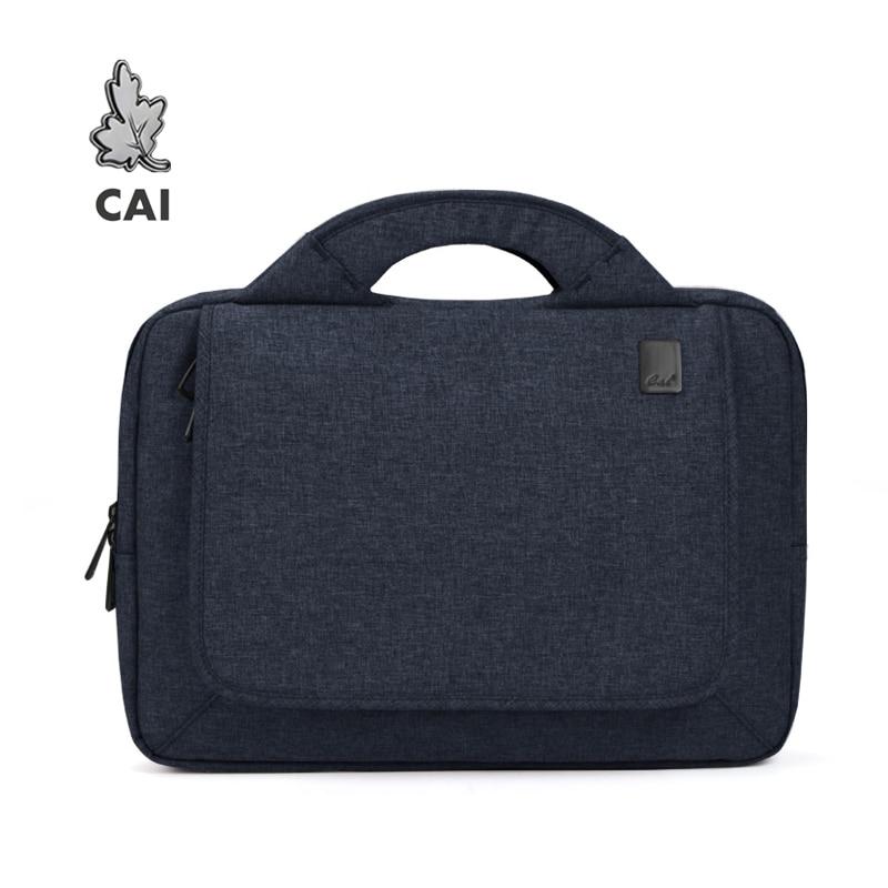 CAI 2019 Office Men Briefcase Gentleman Waterproof 13.3