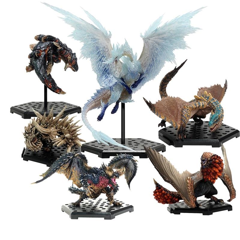 Action Figure Toy Monster Hunter Hunters Shop Model World Iceborne Vol14 Ivercana Tigarex Radbalkin Volganos Baselgius Negigante