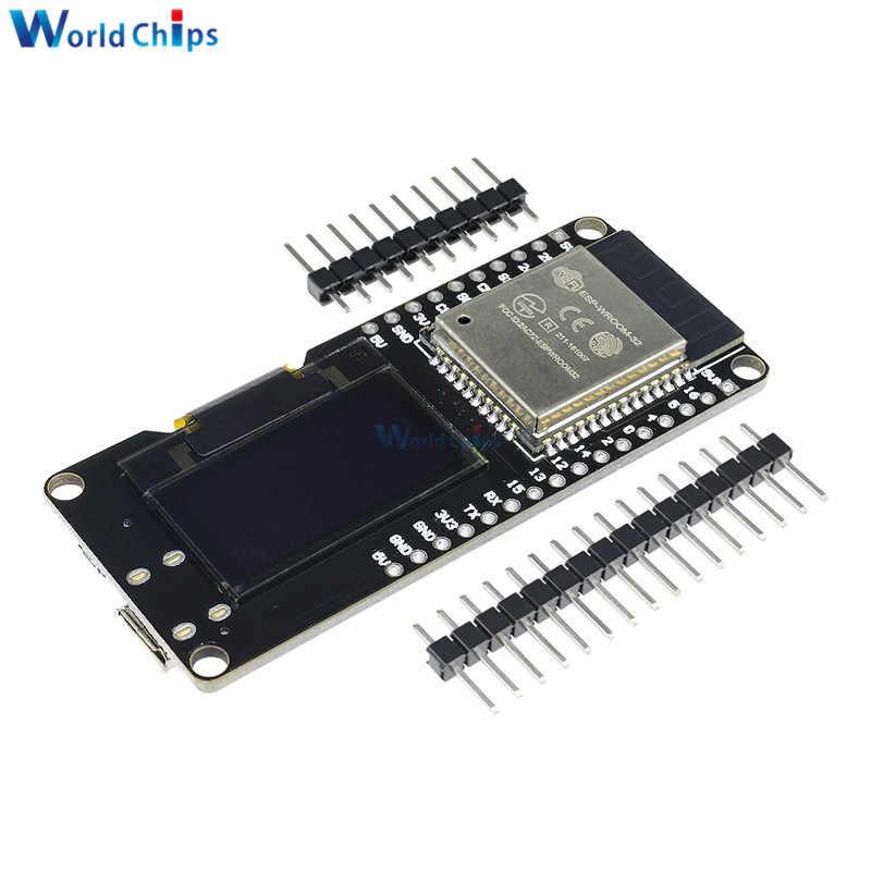 ESP32 OLED WeMOS Development Board WiFi+Bluetooth ESP-WROOM-32 ESP-32 ESP-32S