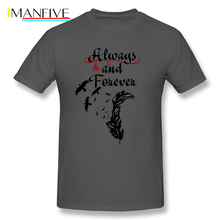 The Originals Vampire T Shirt Klaus Always And Forever T-Shirt 4xl Short Sleeves Tee Cotton Graphic Mens Summer Tshirt
