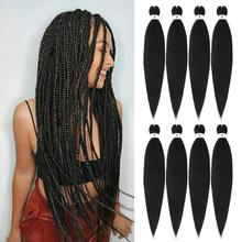 Braiding-Hair Pre-Stretched Extensions Synthetic Kong Li Wholesale Wholesale