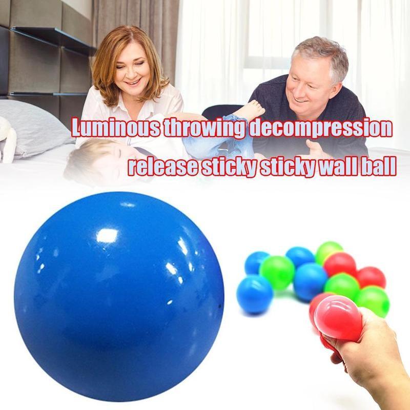 Ljepljive kuglice bacajte na strop dekompresijska kuglica ljepljiva - Zabava na otvorenom i sportovi - Foto 2