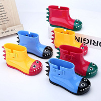 Children's rainshoes and water shoes,Cute cartoon baby crocodile boots,Antiskid for boys and girls
