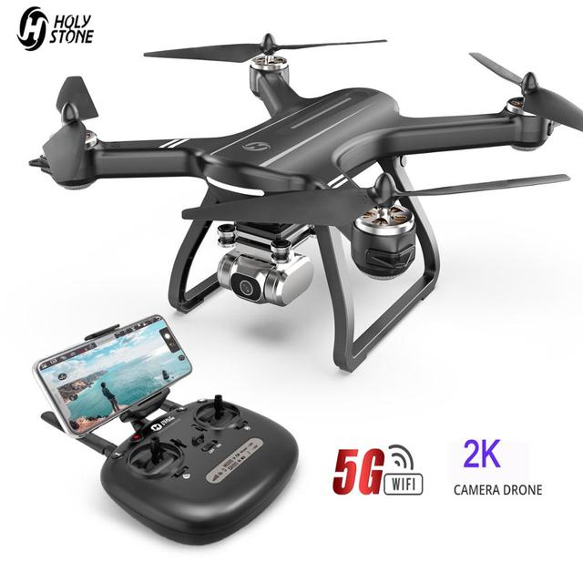 Holy Stone HS700D Profissional Drone With 2K FHD Camera GPS 5GHz WiFi FPV Live Video RC Quadcopter 25KM/H 22 Mins Brushless Dron