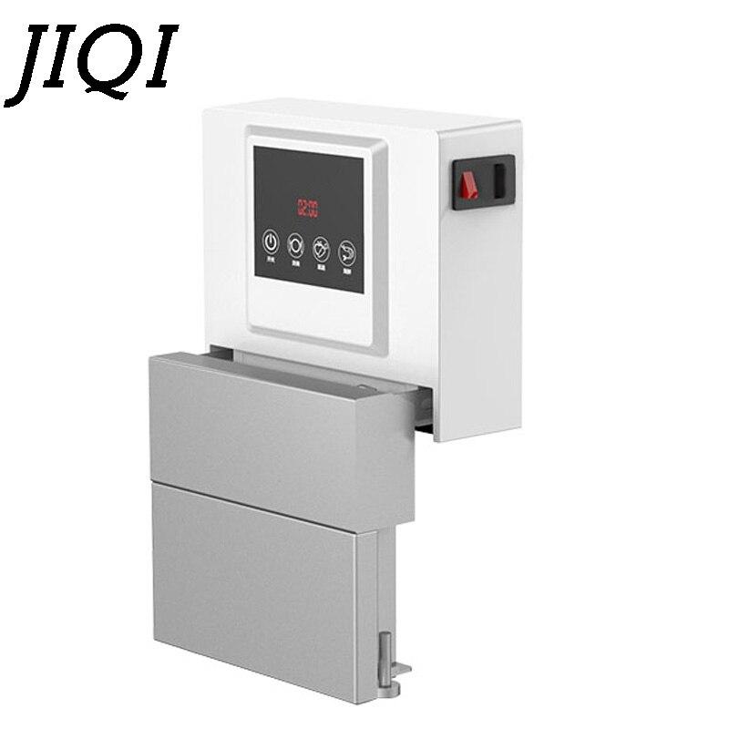 JIQI Automatic Ultrasonic Cleaner Bath Dishes Washer Mini Intelligent Sink Immersion Dishwasher Electric Washing Machine EU US