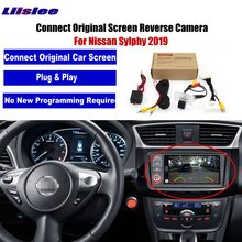 Liislee Car Rear View Back Up Reverse Camera For Nissan Sylphy 2019 Original Factory Screen Monitor Compatible Parking Camera цена в Москве и Питере