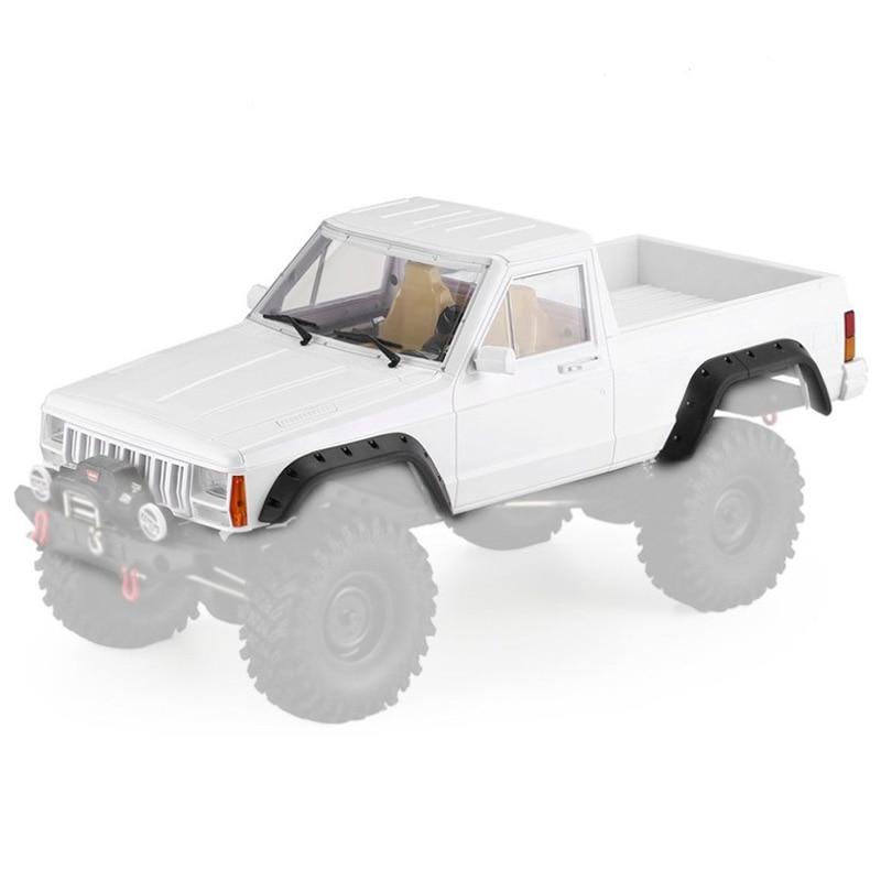 313Mm Wheelbase Hard Plastic RC Car Body Shell for 1/10 Cherokee Pickup RC Crawler Car Axial SCX10 and SCX10 II 90046 90047