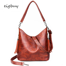 Ladies Top-handle Bags Famous Brand Big  Leather Hand Clutch Purse Women Handbags Red Retro Sac A Main