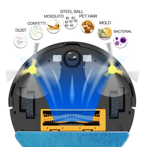 NEATSVOR X500 робот-пылесос 3000 ПА с Порошковым всасыванием 3 в 1 для домашних животных, Сухой Влажной уборки волос, робот для автоматической зарядк...