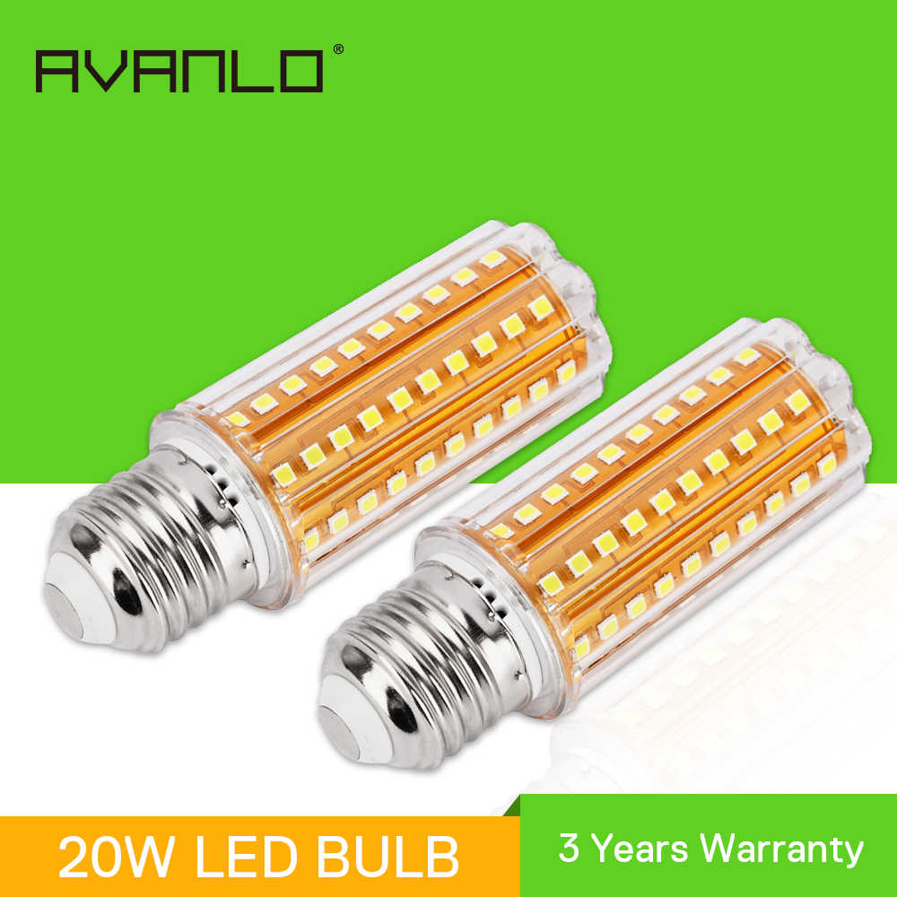 110V 220V 12W Led Corn Lamp E27 Led Bulb Kitchen Chandelier Lighting  90LEDs Home Light SMD5730 Candle LED Light Bulb