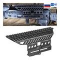 Russian ak AK47 74 47 Zenit B-13 CNC  Aluminium 20mm M47 qd Side Rail Red Dot Scope Mount Base Picatinny Cerakote Hunting