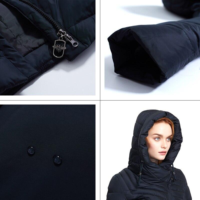 ANDVERY 2019 Зима новое поступление зимняя куртка для женщин новый стиль плотное хлопковое модное пальто с капюшоном длинное зимнее теплое большого размера пальто для женщин 8179