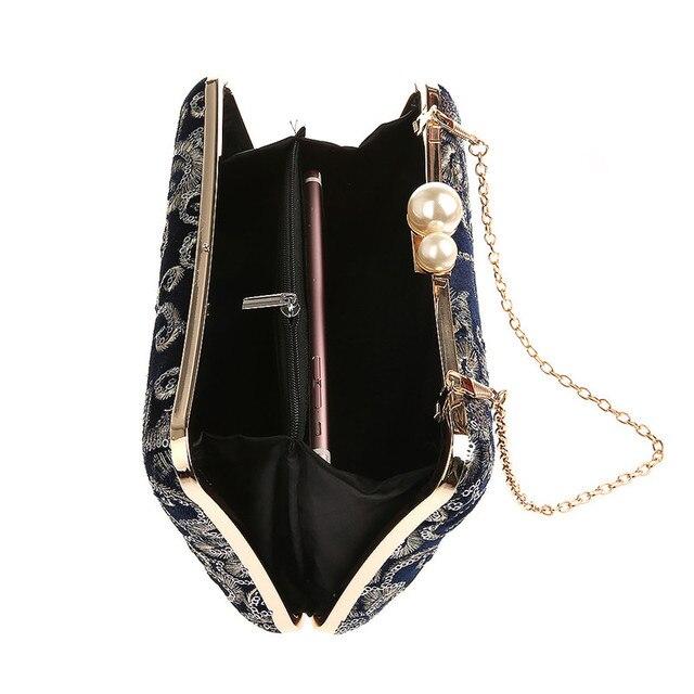 Bridal Clutch Floral Bag