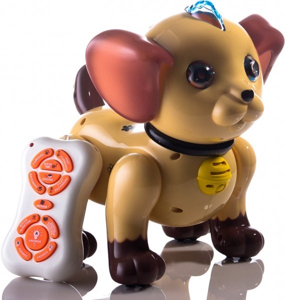 RC Robot Dog Smart I (Brown)-ZYA-2069