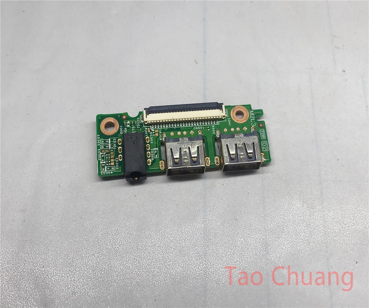 Для Dell 15 3551 3552 3558 5100 звуковая плата USB доска 14856-1