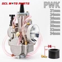 مكربن عالمي للدراجة النارية من ALconstar لـ PWK 21 24 26 28 30 32 34 2T 4T لـ Keihin Koso PWK مع قوة 75cc-250cc