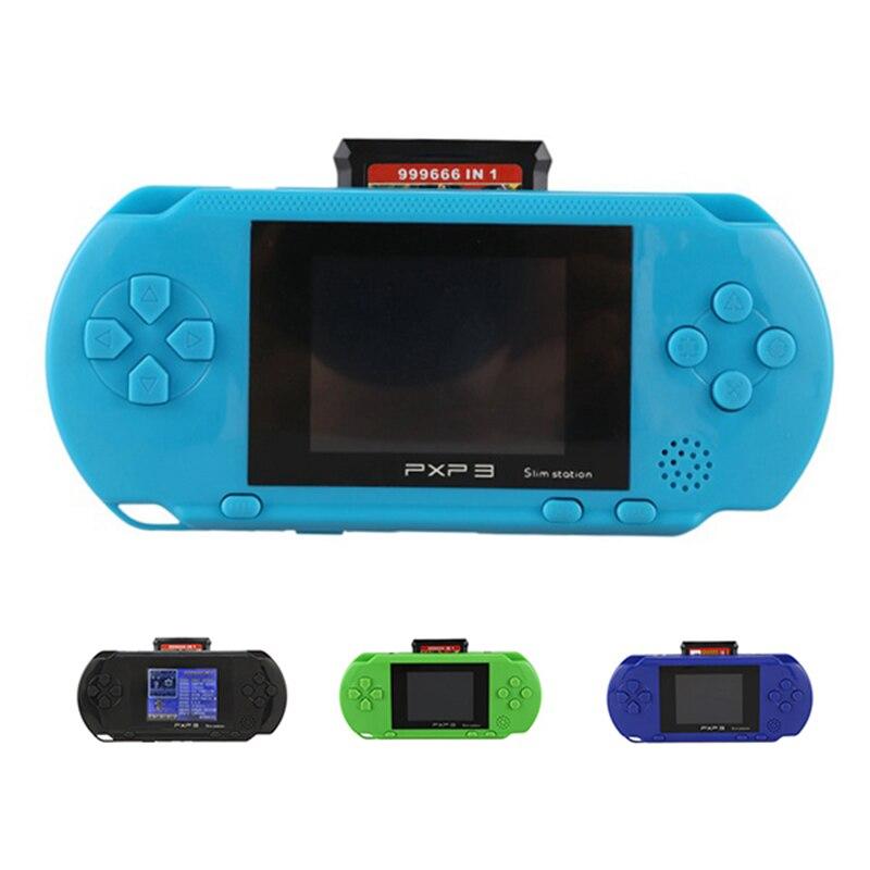 3 pouces 16 bits Pxp3 lecteur de jeu portable rétro Console de jeu vidéo 150 Clic jeux enfant joueurs de jeu Console