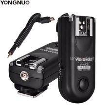 YONGNUO RF 603 II N3 Rádio Remoto Sem Fio Flash Gatilho para Nikon D750 D610 D600 D3300 D3200 D3100 D90 Df D7500 d7200 MC DC2