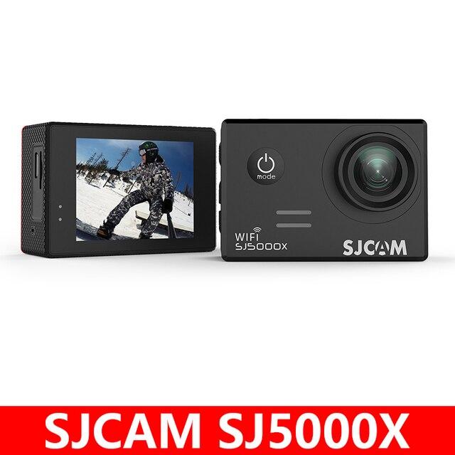 الأصلي SJCAM SJ5000X النخبة الدوران الرياضة عمل كاميرا واي فاي 4K 24fps 2K 30fps الغوص 30 متر مقاوم للماء NTK96660 SJ CAM 5000 سيارة DV