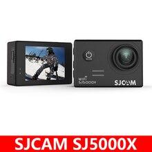 """מקורי SJCAM SJ5000X עלית ג יירו ספורט פעולה מצלמה WiFi 4K 24fps 2K 30fps צלילה 30M עמיד למים NTK96660 ש""""י מצלמת 5000 רכב DV"""