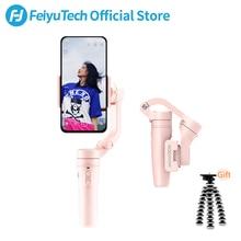 FeiyuTech Vlog карманный мини 3-осевой Ручной Стабилизатор на шарнирном замке для смартфона для iPhone X 11, 8, 7 Plus, 6, HUAWEI P30 pro 、 MI 9 、 VIVO