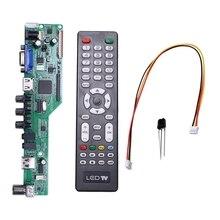 送料プログラムt。HD8503.03Cユニバーサル液晶テレビコントローラドライバボードテレビ/av/pc/hdmi/usbロシア語5 osdゲーム