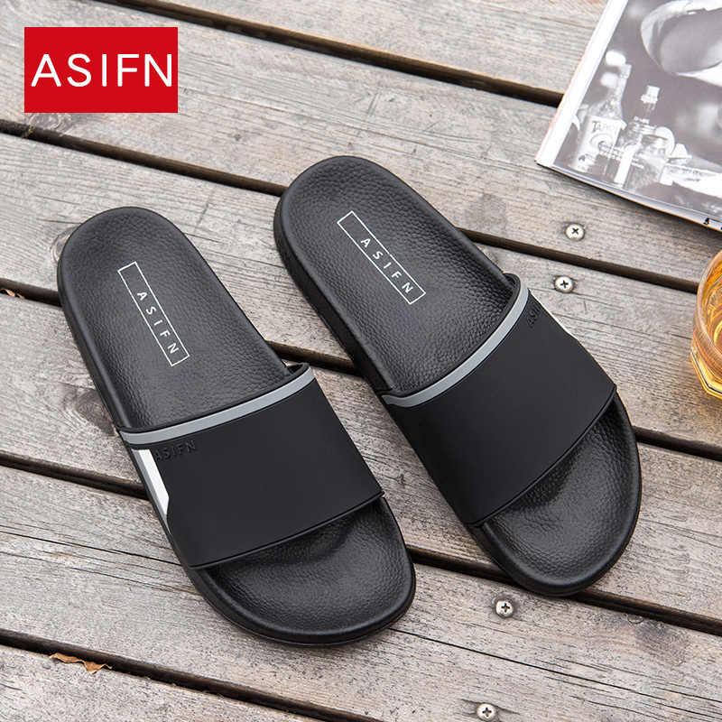 ASIFN Slippers for Men Women Non slip