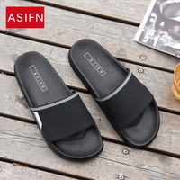 ASIFN Slippers for Men Women Non-slip Indoor Shoes Summer Home Sandals Best Fit Loves 5 Colors