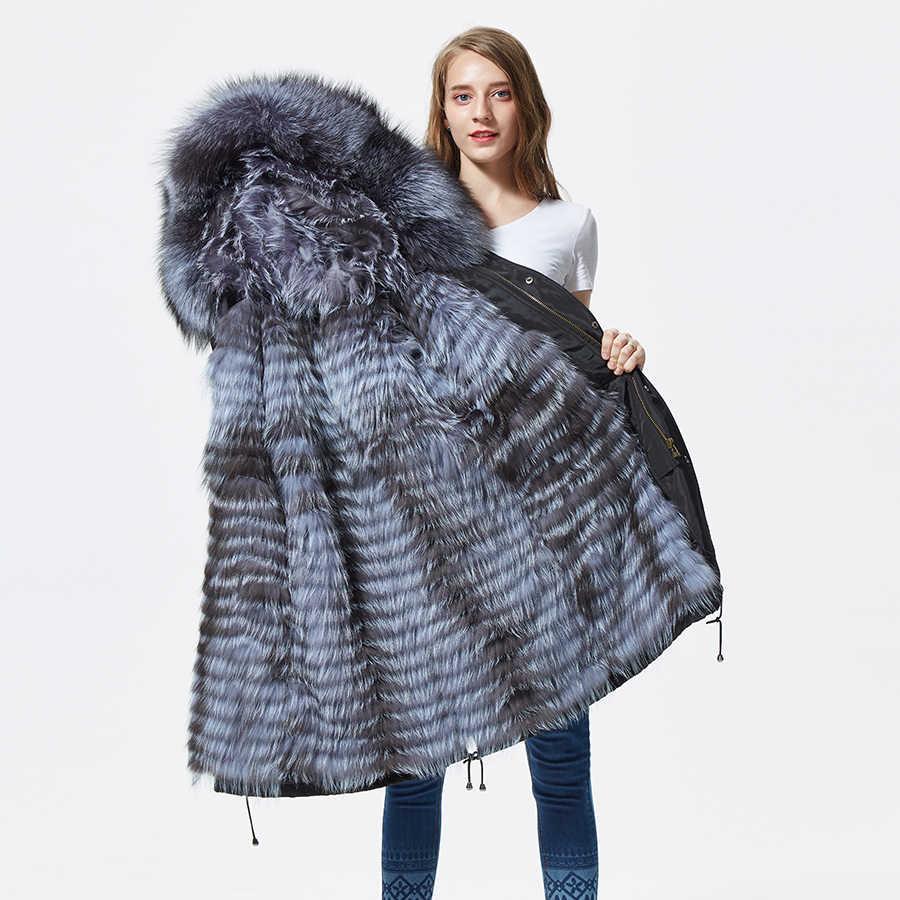 Genuine Fur Lined Parka