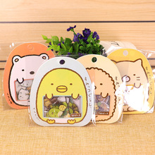 Corner Cartoon Transparent PVC Sticker Paper Bag Hand Account Decorative Stickers Cup Ceramic Biological Stickers Stationery