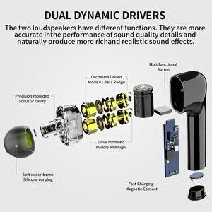 Image 2 - سماعات أذن لاسلكية مع امكانية التحكم في الصوت Syllable s119, سماعة رأس بدون أسلاك مع تحكم في مستوى الضوضاء
