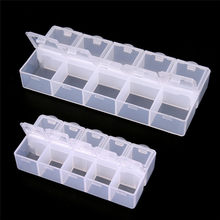 Pill Box Mini Travel Tablet Medicine Dual Layer 10 Compartments Dispenser Case Box Container Drug Tablet Storage(China)