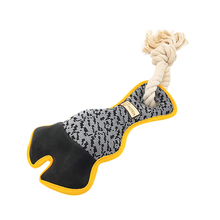 Funny Interactive Claw-shaped Chew Toy For Dog Molar Training Pet Squeaky Teeth Cleaning With Cotton Rope Knots Supplies