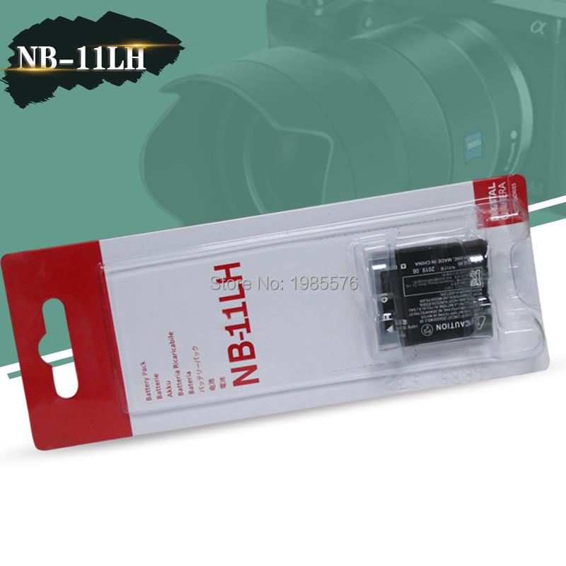 NB-11L NB-11LH Battery for Canon PowerShot A2400 A2500 A2600 A3400 A3500 A4000 IS ELPH 320 340 350 HS IXUS 265