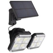20w Super Bright Solar Lights Sensor 120led IP65 Waterproof Outdoor With Adjustable Head Wide Lighting Angle Street lamp