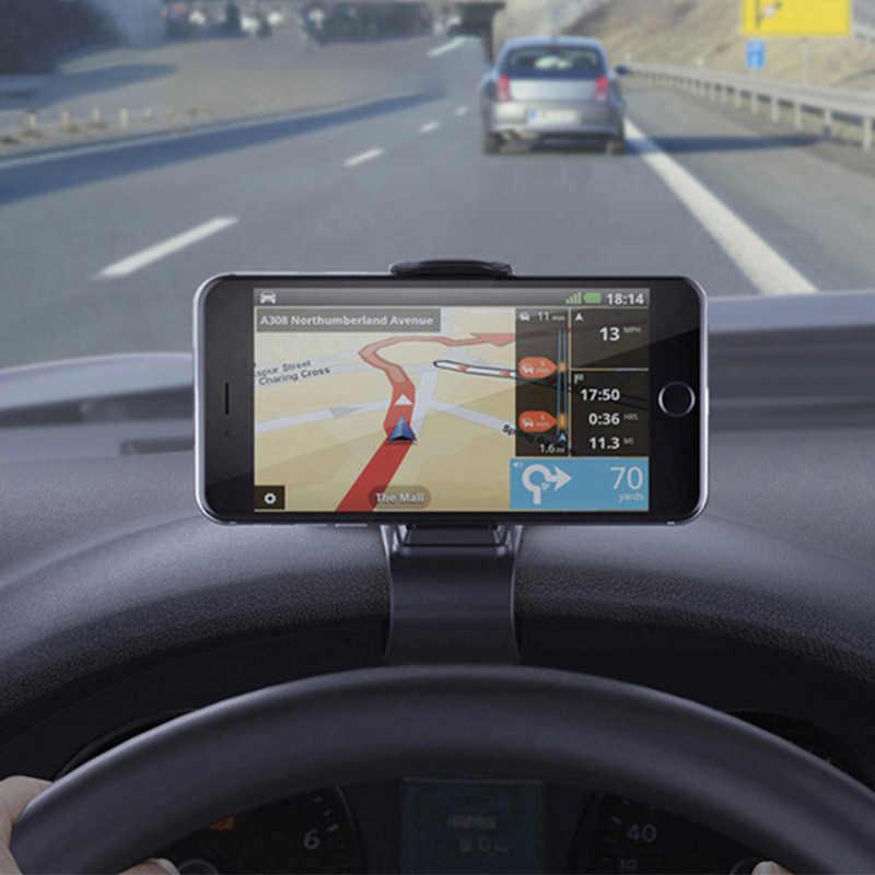 Auto universale Supporto Del Supporto Del Telefono GPS di Navigazione Cruscotto Supporto Del Supporto Del Telefono Per Il Telefono Mobile di Clip Fold Supporto Del Supporto Del Basamento Staffa