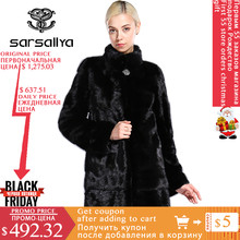 Real Mink Fur Coats For Women Genuine Mink Fur Jackets Luxury Ladies Mink Coats Long Real Fur Female Coats Winter Warm Overcoats(China)
