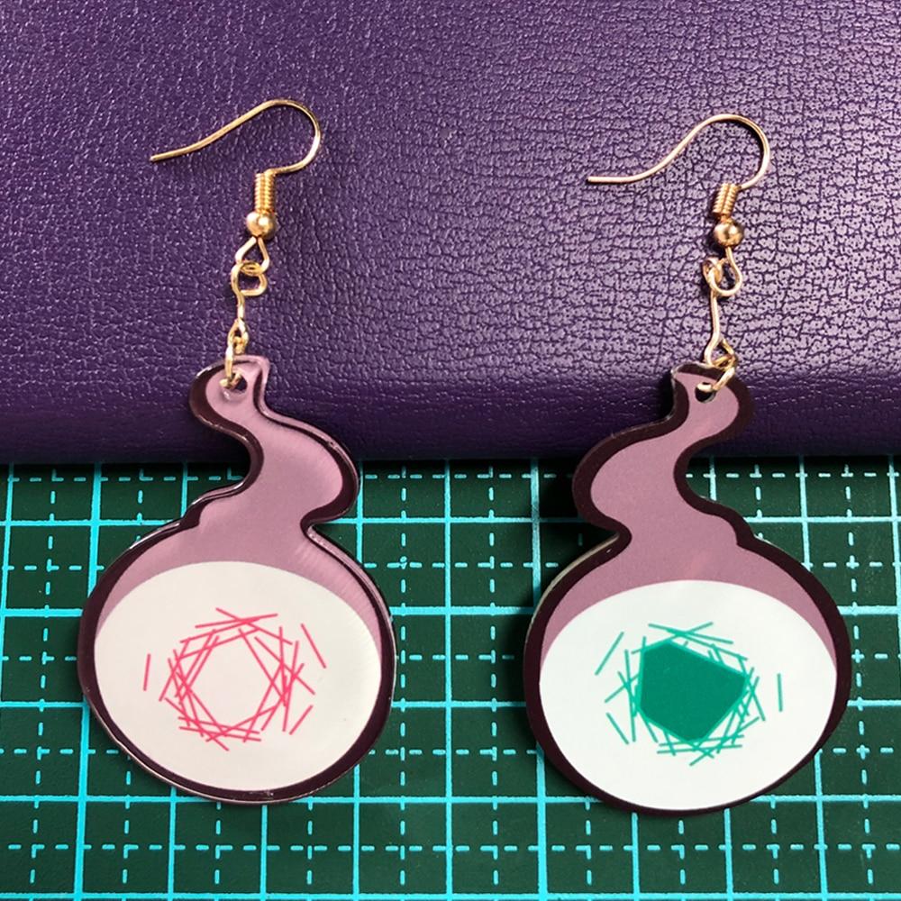 Anime Toilet-Bound Hanako-kun Earrings Cosplay Yugi Amane Earring Ear Stud Costume Accessories