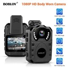 Boblov WN10 Police Camera HD Law Enforcement Cam Wearable Body Camera Security cam Loop Recording Camcorder Body Worn cam