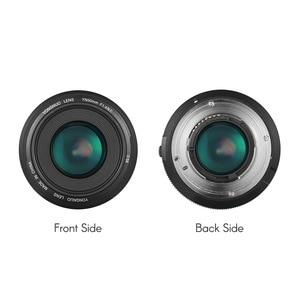 Image 5 - YONGNUO YN50mm Lens YN50mm F1.4 Standard Prime Lens Large Aperture Auto Focus Lens for Canon EOS 70D 5D2 5D3 600D for Nikon DSLR