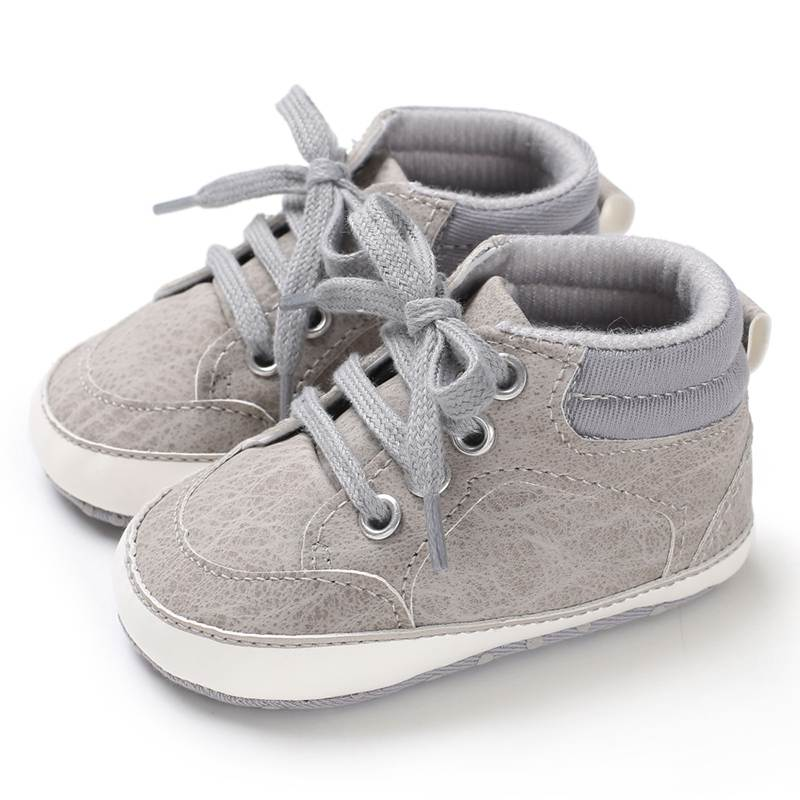 1 Pair Baby Casual Shoes Newborn Infant Shoes For Boys Kids Soft Sole Non-Slip Crib Sneakers