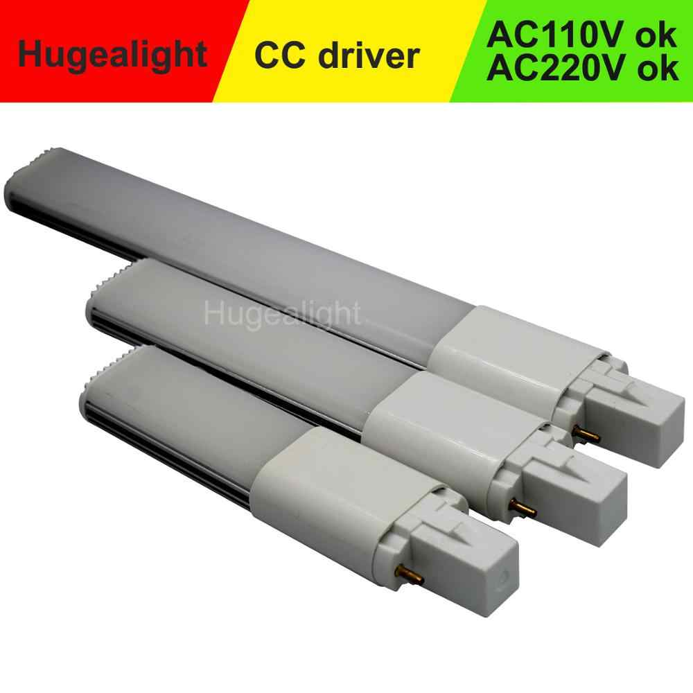 G23 led SMD2835 5w 7w 9w 11w 2pin אנרגיה חיסכון Ultra דק LED הנורה סופר Birght קישוט בית החלפת AC85-265V צינור מנורה