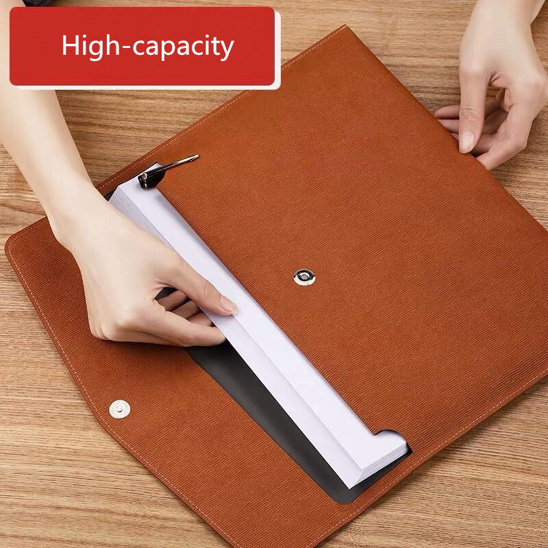 New Arrival Waterproof A4 Fille Folder Document Papers Organizer Storage Bag School Office Stationery