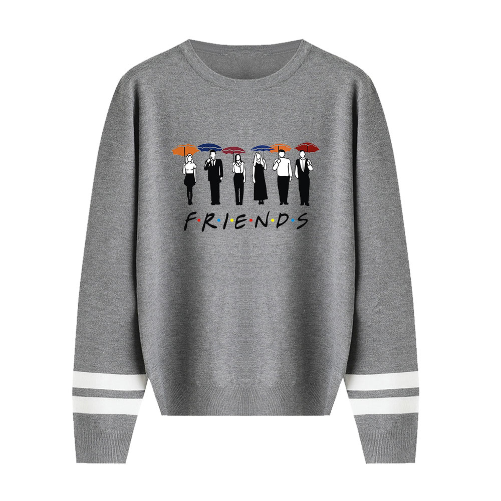 Friends Sweater Men/women Simplicity Fashion Knitting Sweater Fall/Winter Popular Pullovers Classic Sitcom Casual Female Sweater