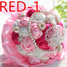 Wedding bridal accessories holding flowers 3303 RED