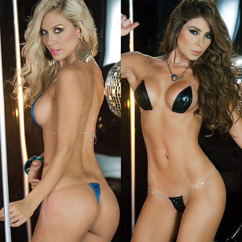 Sexy Swimwear Bikini 2020 Women Micro Thong Underwear Thongs Bra Separate Women's Swimsuit Brazilian Bikini Swimsuit Outfit