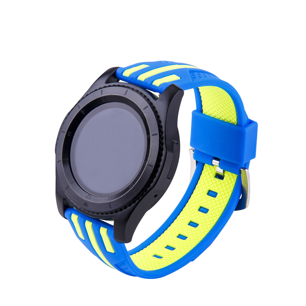 22mm silicone strap for <font><b>samsung</b></font> galaxy <font><b>watch</b></font> <font><b>46mm</b></font> active 2 watchband Huawei <font><b>watch</b></font> GT <font><b>Smart</b></font> <font><b>watch</b></font> accessories silicone <font><b>bracelet</b></font> image