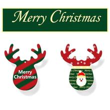 Christmas Antlers Car Ornaments Accessories for Girls Hanging Decoration Interior Pendant Perfume Air Freshener