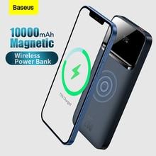 Baseus 20W 10000mAh Magnetic Wireless Quick Charging Power Bank Digital Display For iPhone 11 12 Huawei Xiaomi Samsung