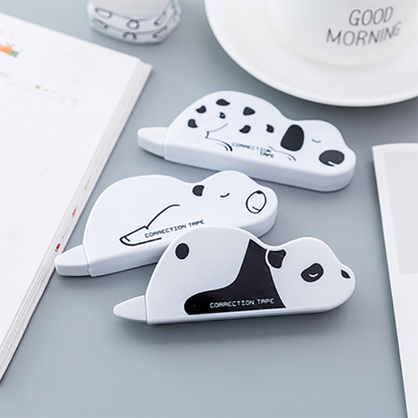 Kawaii Animal Correction Tape Stationery Kids Studying Cartoon Modification Gadget Corrector Tape Office School Supplies